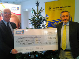 United Oilseeds helps support Julia's House Children's Hospices image