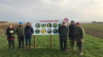 United Oilseeds & Hubbards Salesteam visit Limagrain's Innovation Site in Lincs 21/11/118