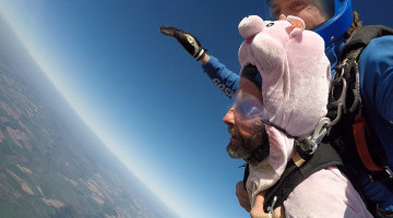 UOM Member Cameron Naughton Completes Charity Parachute Jump