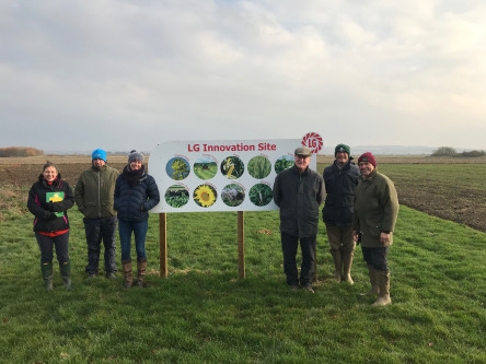 United Oilseeds & Hubbards Salesteam visit Limagrain's Innovation Site in Lincs 21/11/118