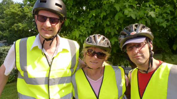 United Oilseeds takes Part in Charity Bike Ride